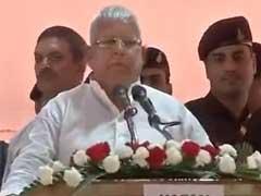 NDTV India Ban: Country Heading Towards Dictatorship, Says Lalu Yadav