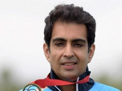 Manavjit Singh Sandhu Wins Men's Trap Gold at National Shooting Championship