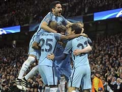 UEFA Champions League: Manchester City Stun Barcelona as Arsenal Progress