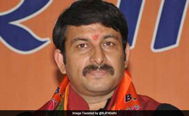 manoj tiwari height and weight