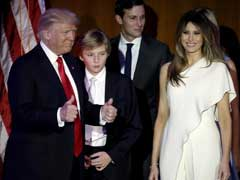 Discreet Melania: Out Of Camera Frame For Donald Trump's Victory Speech