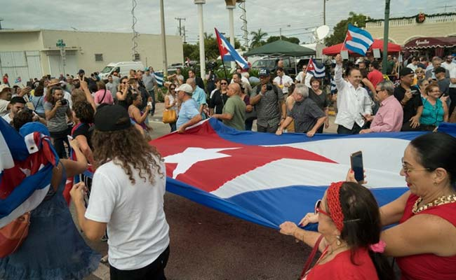 Miami Cubans Party Relentlessly After Death Of Fidel Castro