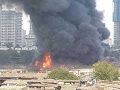 Massive Fire At Furniture Market In Mumbai's Oshiwara