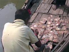 Old School Notes Of Rs 500 And Rs 1,000 Found Floating In Ganga