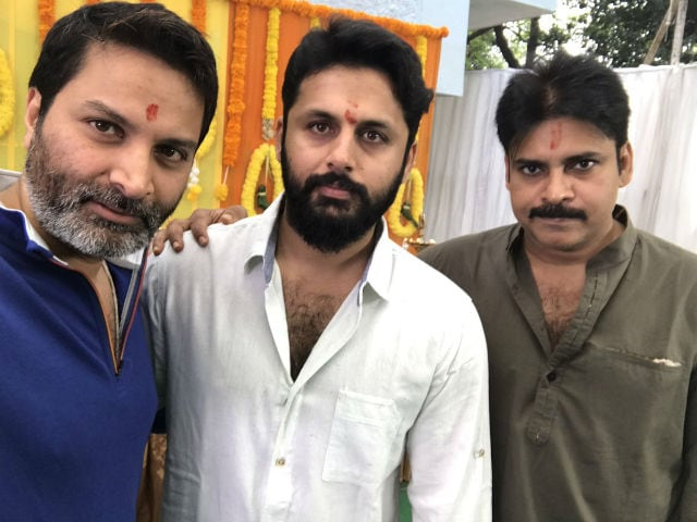 Nithiin's next is co-produced by PK and Trivikram