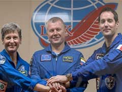 Russian Spaceship Delivers Three Astronauts To Space Station