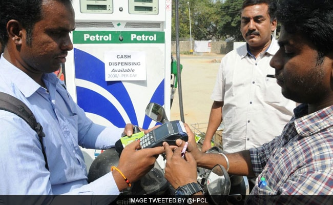 Petrol pump operators had on Sunday threatened to stop accepting card payments.