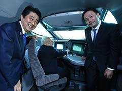 PM Narendra Modi, Shinzo Abe Take Ride In Shinkansen Bullet Train To 'Fast-Track' Indo-Japan Relations
