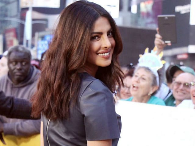 Priyanka Chopra Says Leaving India Was Tough But She 'Wants the World'