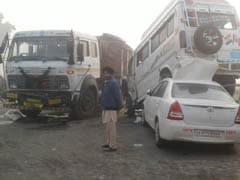 Punjab Trucker On Wrong Side Of Road Caused This Collision, Ran Away
