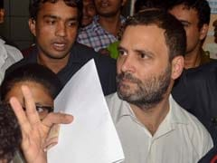 For Rahul Gandhi's Brief Court Appearance In Maharashtra, Congress's Big Show