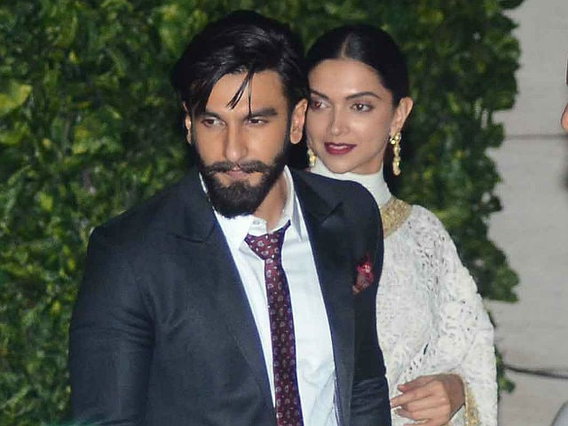 Deepika Padukone, Ranveer Singh Hold Hands At Star-Studded Ambani Party