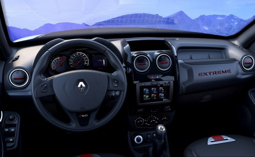 Renault Duster Extreme Concept Cabin