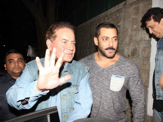 Salman Helps Father Salim Khan, Now 81, Take A Trip Down Memory Lane