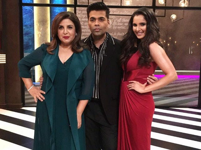 Sania Mirza Is All Set To Enjoy Koffee With Karan
