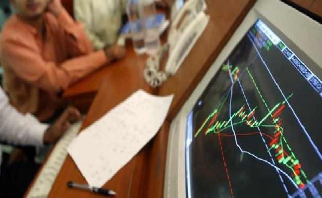 Sensex Edges Lower, Nifty Trades Near 8,100