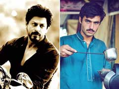 Shah Rukh Just Tweeted This About Pakistan's Blue Eyed 'Chaiwalla'