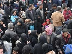 20,000 Syrians Have Fled East Aleppo This Week: Red Cross