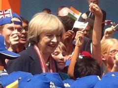 Theresa May Goes Back To School On Her Day-2 Visit To Bengaluru