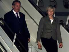 Britain's Theresa May In India On 3-Day Visit, To Meet PM Modi Today