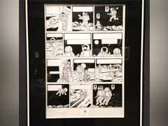 Tintin Drawing Sells For Record 1.55 Million Euros In Paris