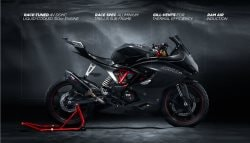 TVS Apache RR 310S Instrument Cluster Revealed