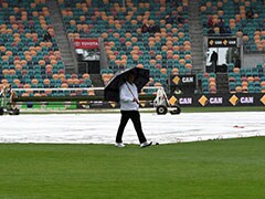 2nd Test: Rain Washes Out Second Day's Play in Hobart