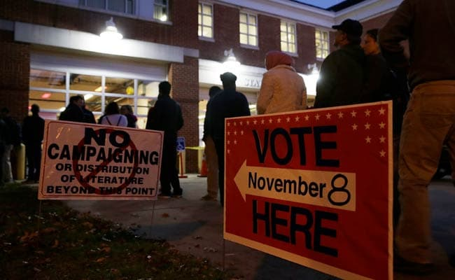 'First blood' to Trump as vote count begins