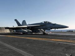 Planes Launched Off US Carrier In Gulf Pound ISIS