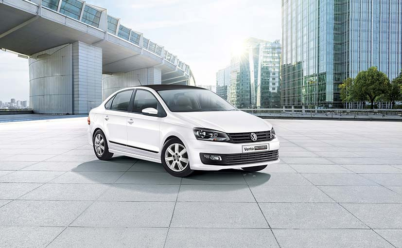 volkswagen vento preferred edition launched  india ndtv carandbike