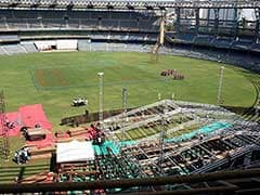 Wankhede Track Will be Slow Turner: MCA sources