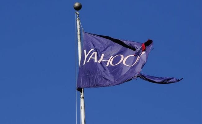 Yahoo said the sale of its main operating unit was on track to be completed in the second quarter.