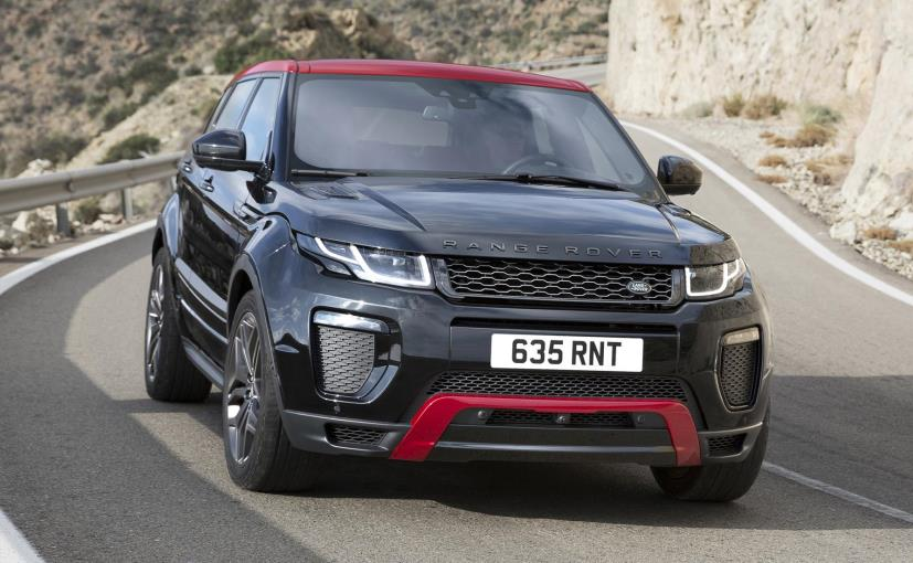 2017 land rover range rover evoque launched in india prices start at rs lakh ndtv. Black Bedroom Furniture Sets. Home Design Ideas