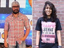 Aamir Khan's Daughter Ira Promotes Her Haanikarak Bapu's Dangal