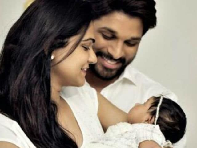 Allu Arha is Actor Allu Arjun And Sneha Reddy's Daughter's Name