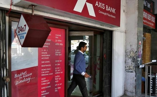 The raid was conducted at an Axis Bank branch situated in Noida Sector 51.