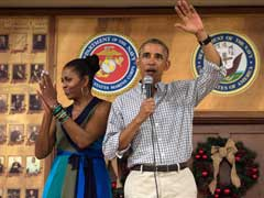 From Barack Obama, A Final Christmas Tribute To The Troops He's Led