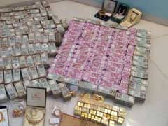 5.7 Crore New Notes, 32 Kg Of Gold Found In Hawala Dealer's Bathroom Safe