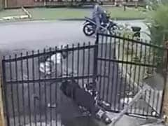 Trending: Millions Are Watching This Video Of Bike Robbery Gone Wrong
