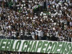 Fans Cram Into Brazil Football Stadium To Mourn Dead Players