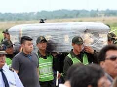 First Plane Arrives With Bodies Of Brazil Footballers Killed In Crash