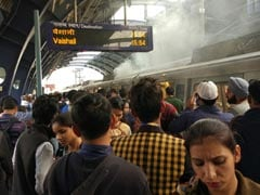 Metro Train Catches Fire At Patel Nagar Metro Station In Delhi