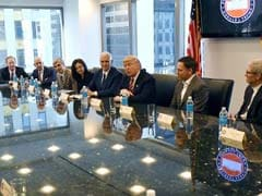 'Here To Help You Do Well,' Donald Trump Assures Tech Bosses Like Satya Nadella