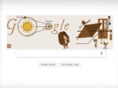 Google Doodle Celebrates 340th Anniversary Of Determination Of The Speed Of Light