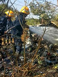 1 Dead, 3 Injured In Helicopter Crash In Aarey Colony Area In Mumbai