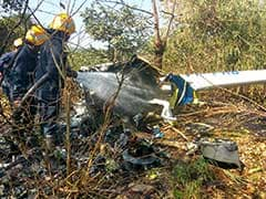 1 Dead, 3 Injured In Helicopter Crash In Aarey Colony Area Near Mumbai