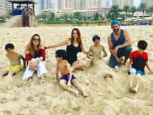 Hrithik Roshan And Sussanne Khan's 'Happy' Reunion In Dubai. See Pics