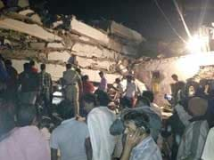 10 Feared Dead As 7-Storey Building Collapses In Hyderabad