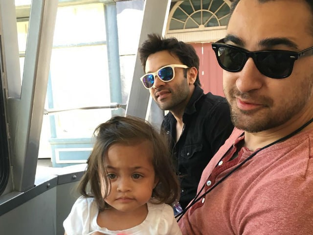 In Pics: Imran Khan And Imara's Instagram Swag