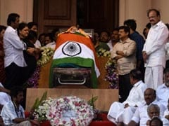 Jayalalithaa Funeral Today, PM Modi Pays Tribute In Chennai: 10 Points